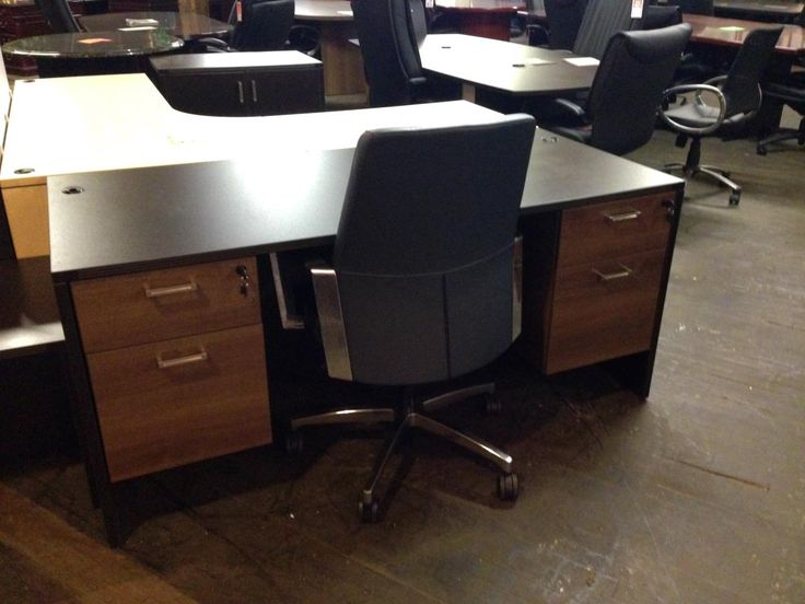 Business Furniture Warehouse Nashville S Largest New And Used Office Dealer Including Cherryman Black Cherry Desk With Walnut Pedestals
