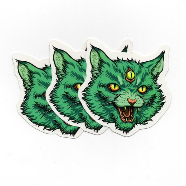 Cat stickers 3 pack