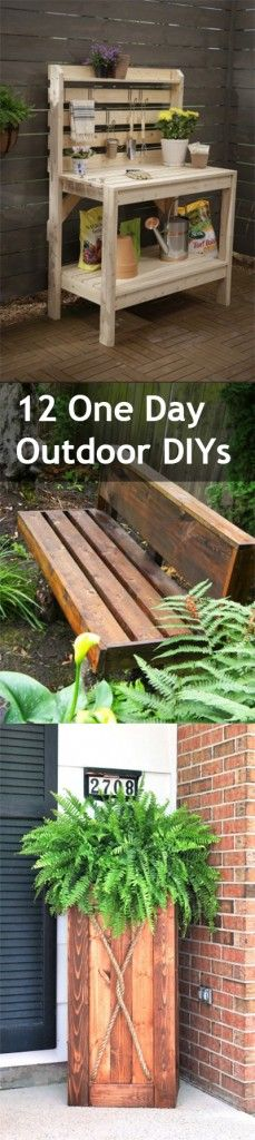 Outdoor DIYs, easy outdoor DIYs, one day garden updates, popular pin, outdoor…