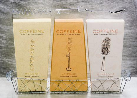 leuk ontwerp voor koffie... maakt het echt een giftset