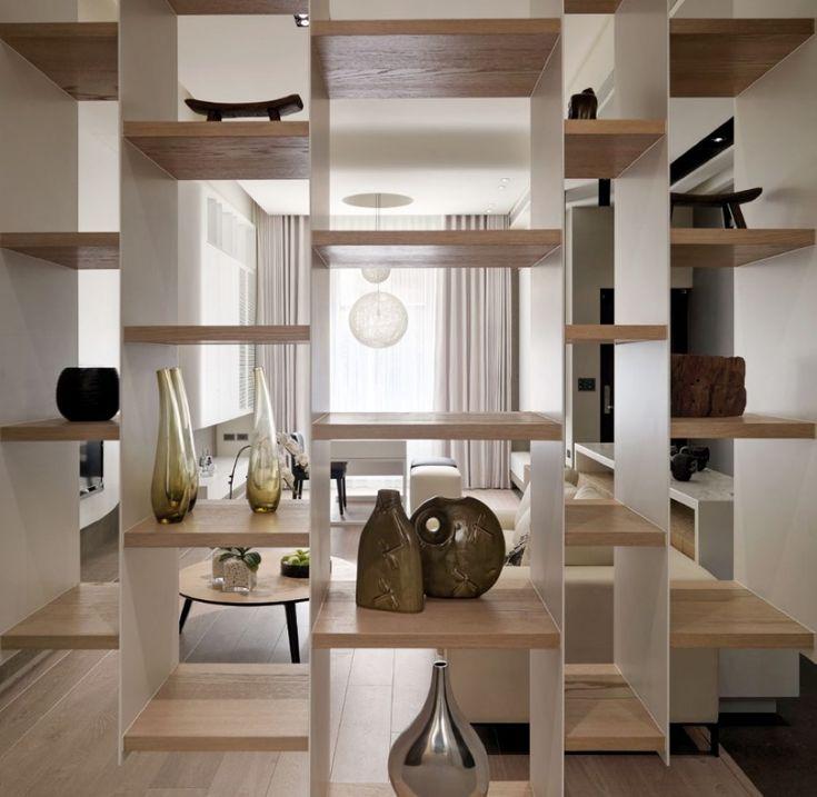 1000 ideas about bookshelf room divider on pinterest - Bookshelves as room dividers ...