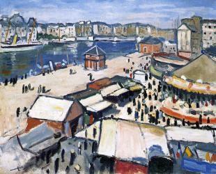 Albert Marquet, La Fête foraine au Havre  © Bordeaux, musée des Beaux-Arts © ADAGP, Paris, 2013