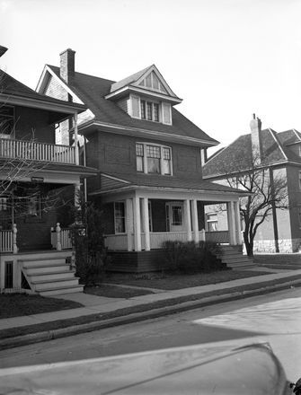 Evelyn Dick's home at 32 Carrick Avenue