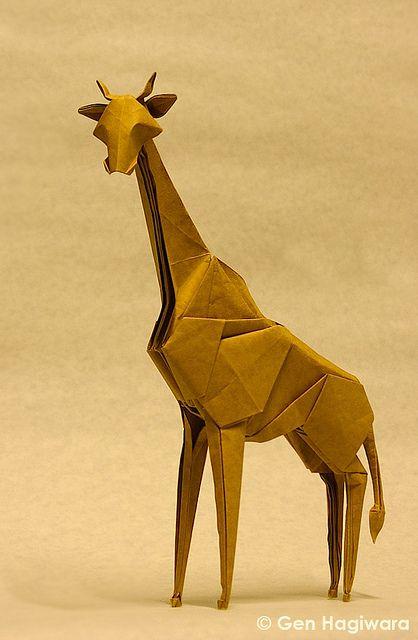 Giraffe by Gen Hagiwara, via Flickr