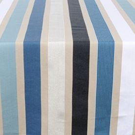 Tovaglia rotonda Garlin Blue ⌀ 160 cm