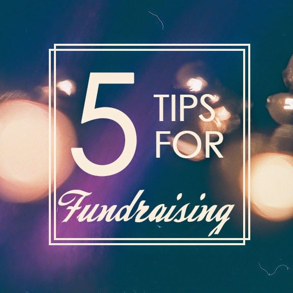 Five Tips on Fundraising