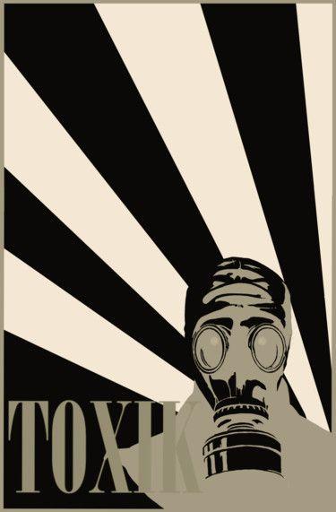 Gas mask ToXiK / Masque à gaz ToXiK