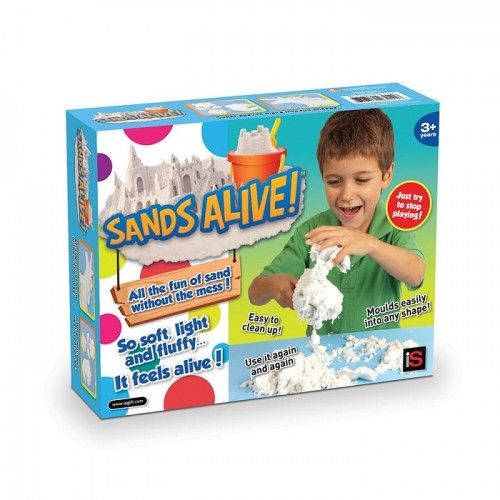 Sands Alive Box of Sand  on Yellow Octopus #sands #alive #box #sand