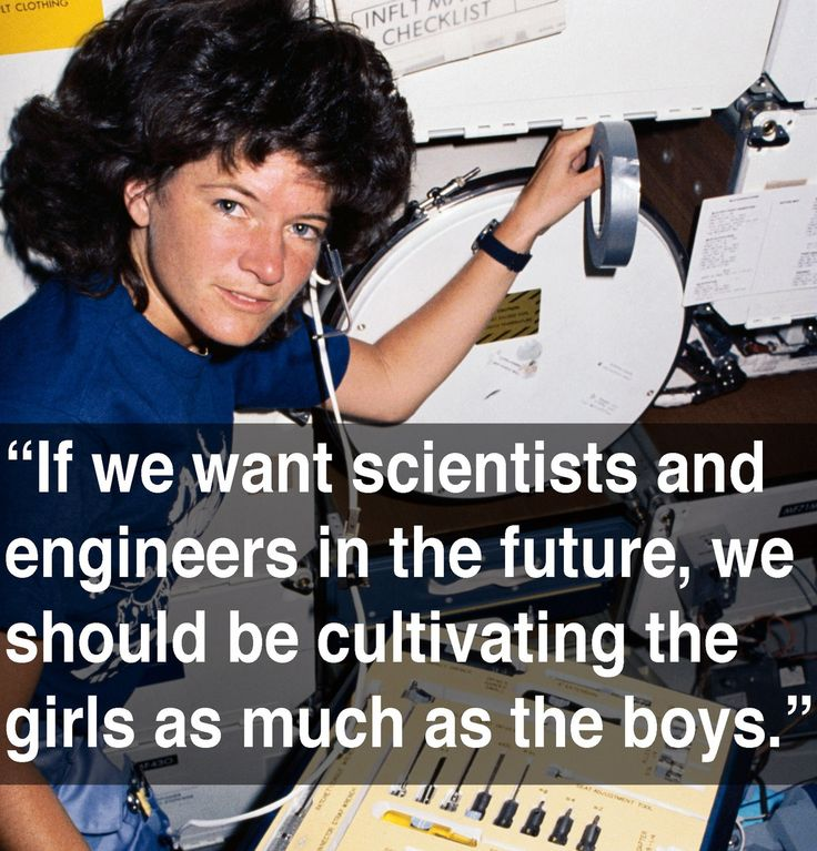 Sally Ride never intended to be a hero. In fact, she was a shy girl who never raised her hand in class, loved to play tennis and read Scientific American religiously. When she r...