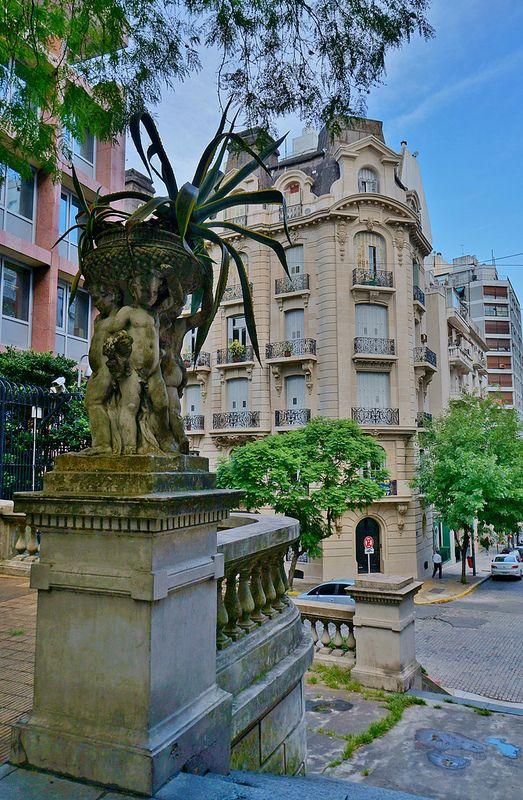 European Architecture in Buenos Aires   Barrio de la Recoleta