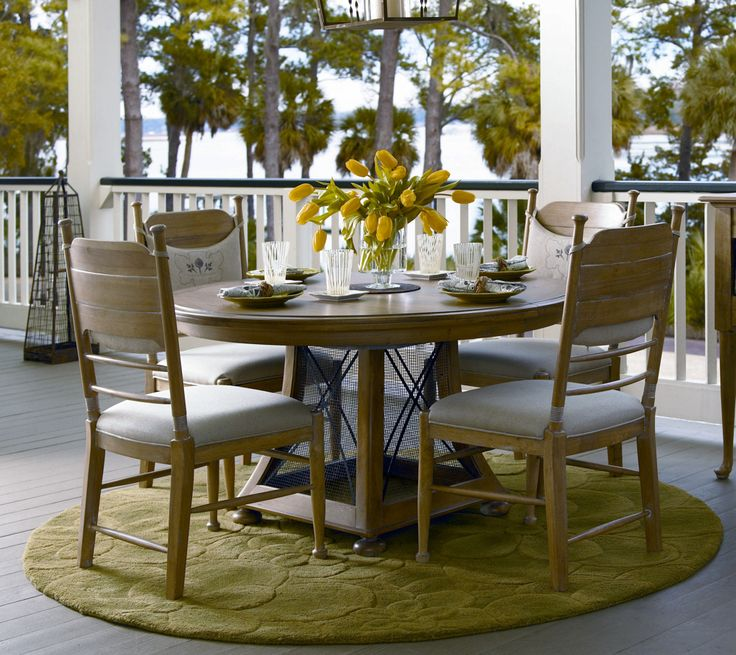Universal Furniture   Paula Deen Down Home   Round Breakfast Gathering  Table, Available At Furnitureland