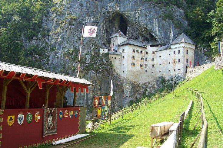 Predjama Castle - Postojna, Slovenia: Travel Slovenia, Castles Built, Favorite Places, Slovenia Predjama, Caves Mouths, Castles Slovenia, Castles Man, Renaissance Castles, Predjama Castles
