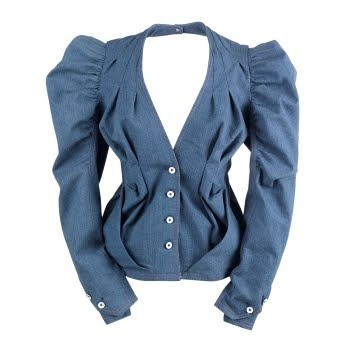 Florence and Fred Couture - Extreme Denim Jacket