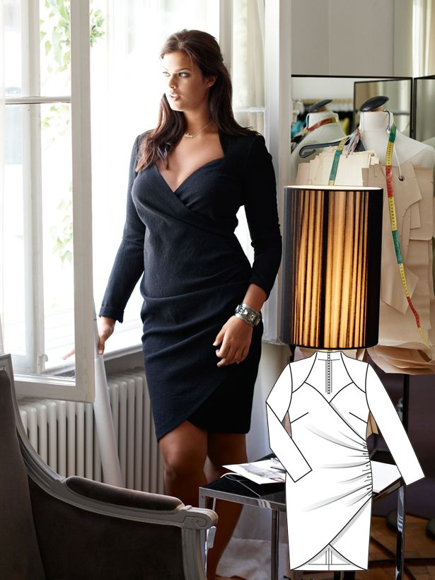 Work to Play: 9 New Plus Size Patterns – Sewing Blog   BurdaStyle.com