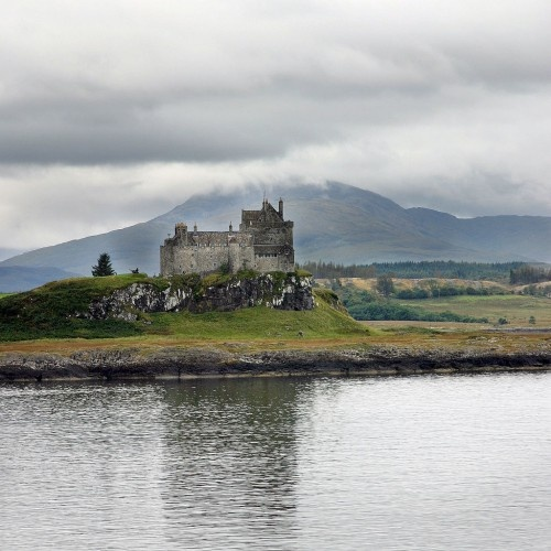 Duart Castle, Duart Point, Mull