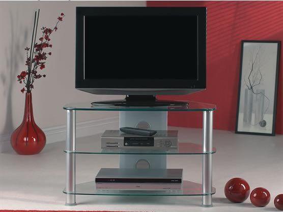 Meuble Hifi Support Tv Verre Et Aluminium Ce Superbe