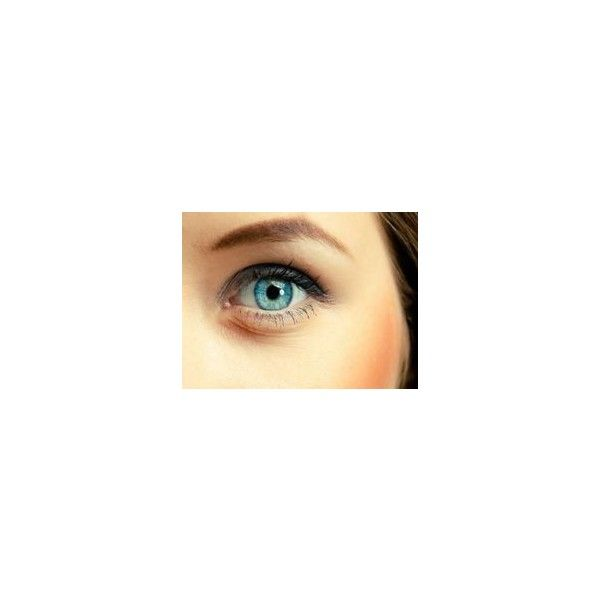 Light Blue Contact Lenses by Fresh Colors ❤ liked on Polyvore featuring beauty products, makeup, eye makeup and eyes