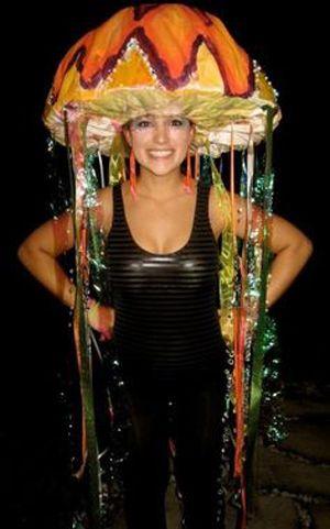 fabriquer une meduse   Déguisement de Carnaval – Pop Corn   Semaines Grossesse