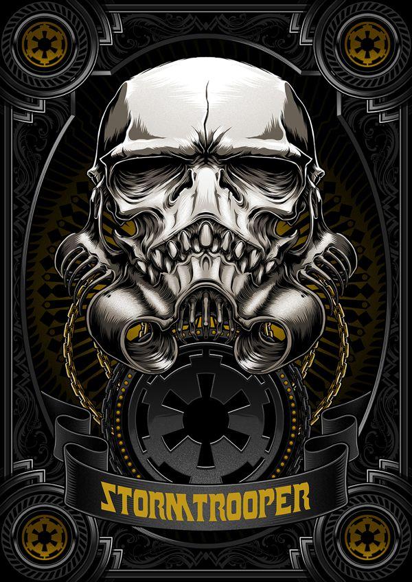 Death Side Series: Darth Vader & Shadow Stormtrooper by Charles AP