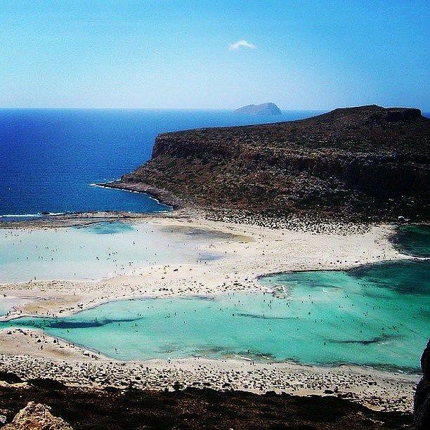 Balos lagoon, Chania, Crete, Greece
