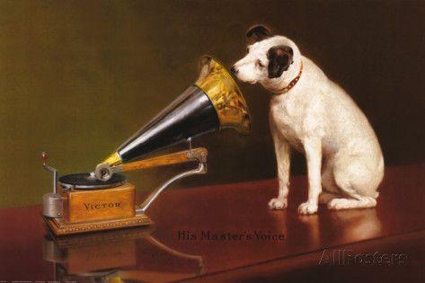 His Master's Voice Kunsttrykk