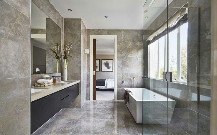 Australian modern bathroom design australian decor design pinterest grey bathrooms Modern australian bathroom design
