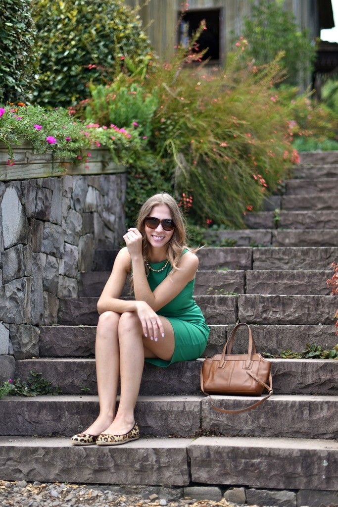 Look - Green Grapes | SulianeVieira.com |  Vestido Zara Colar Morana Óculos Burberry Bolsa Coach Sapatilha Kate Spade