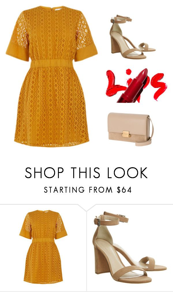 """Summer evening"" by monika1555 on Polyvore featuring Warehouse and Yves Saint Laurent"