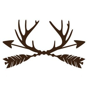 Silhouette Design Store: trophy antler arrows