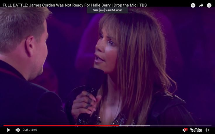 Halle Berry Buries James Corden In Epic Disses During Rap Battle | HuffPost