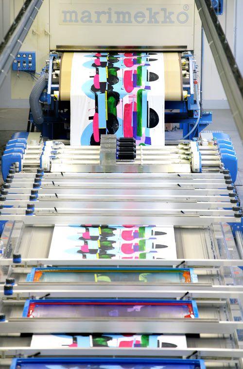 #Marimekko  - the Art of Printmaking via @Design Milk #print #textile #fashion