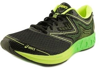 Asics Noosa Ff Men Round Toe Synthetic Black Running Shoe.