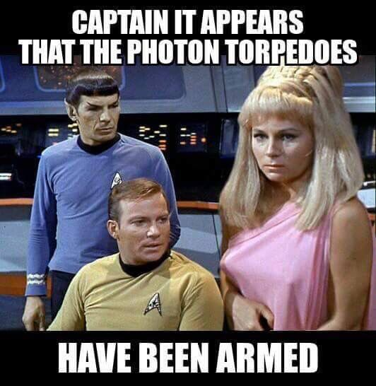 StarTrek: Photon Torpedoes Have Been Armed