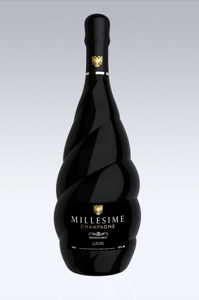 MILLESIME Champagne on Packaging of the World - Creative Package Design Gallery