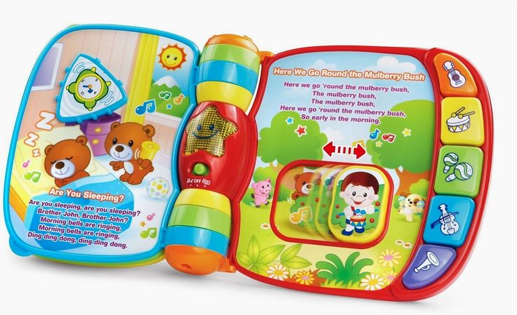 #VTech #Musical Rhymes Book (#Frustration Free Packaging)  https://couponash.com/deal/vtech-musical-rhymes-book-frustration-free-packaging/168412