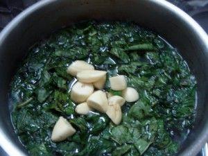 Molokhia Recipe (Egyptian Stew) | JustAsDelish.com