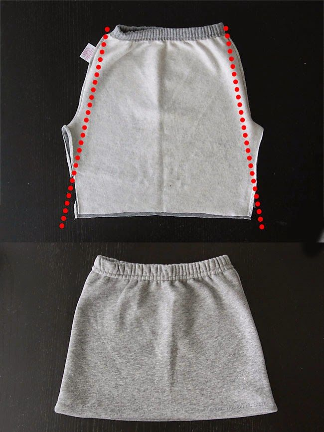 How to make a sweatpant skirt {goodbye old sweats, hello cute skirt!} - It's Alw. - How to make a sweatpant skirt {goodbye old sweats, hello cute skirt!} – It's Always Autumn- - Sewing Hacks, Sewing Tutorials, Sewing Patterns, Sewing Tips, Sewing Projects, Dress Patterns, Hello Cute, Sports Skirts, Refashioning