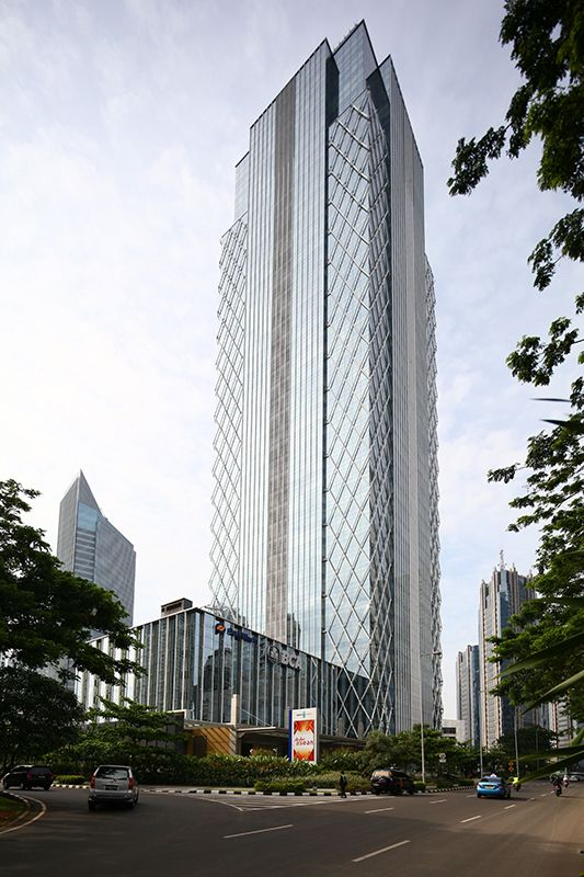 Equity Tower - Jakarta, 220.0 m, 44 fl, | completed 2010