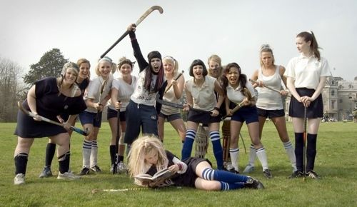 St Trinians Hockey Team...