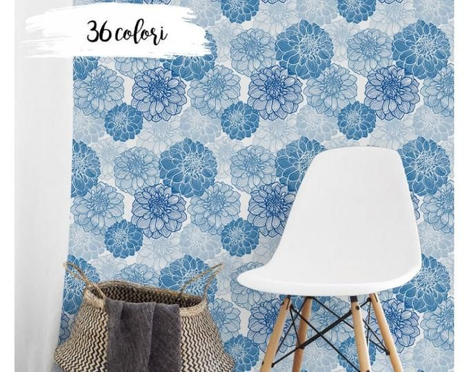 Etsy Your Place To Buy And Sell All Things Handmade Floral Wall Decals Removable Wallpaper Peel And Stick Wallpaper