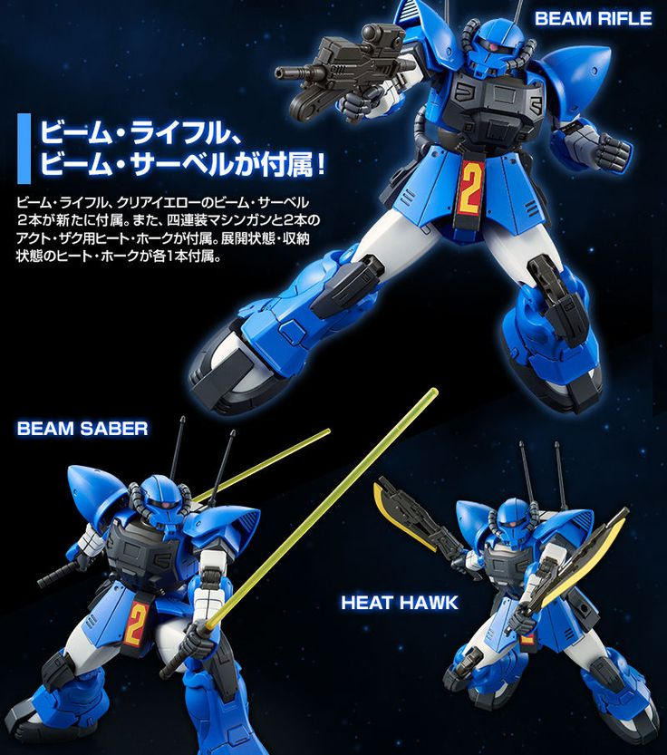 GUNDAM GUY: Bandai: EXP001 Weapon Systems 1 - Review by