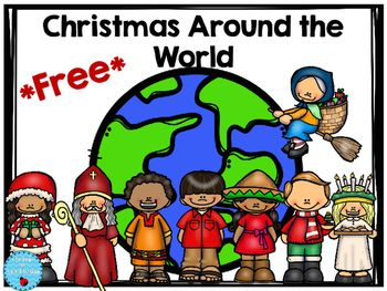This freebie has 8 different countries to research on how Christmas is celebrated. The format is simple for students to fill out while they research. Christmas Around the World is fun to do in December, but if the month gets too busy, it really is not something you want to carry into January if the project does not get finished.