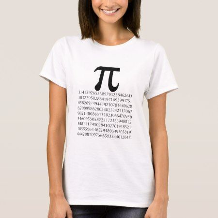 pi  maths T-Shirt - click to get yours right now!