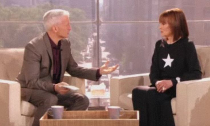 Anderson Cooper's mother Gloria Vanderbilt opens up about his brother's suicide and how she had to keep living for him