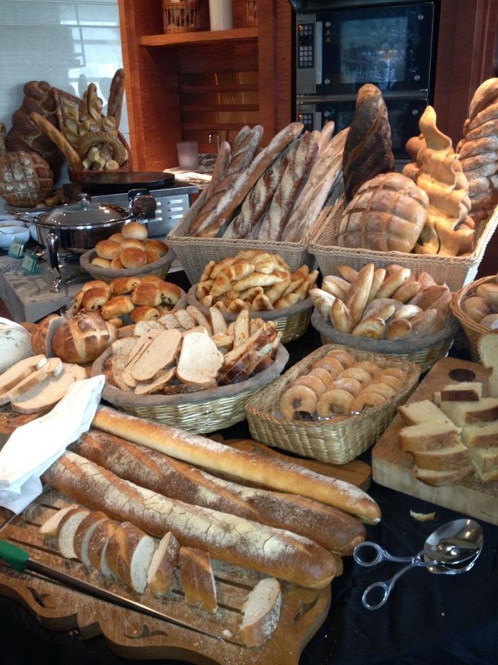 freshly baked #bread from our #breakfast buffet at Sofitel Bangkok Sukhumvit