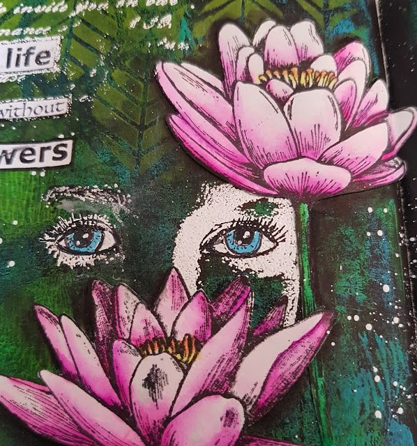 Art Journey Design-team: Peeking through the Lily's