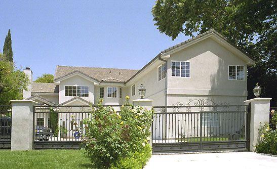 James Dean's last address in Sherman Oaks (Los Angeles), California