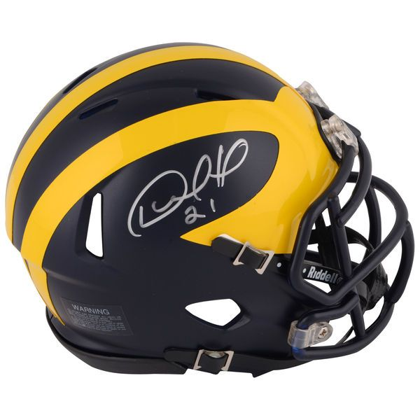 Desmond Howard Michigan Wolverines Fanatics Authentic Autographed Riddell Speed Mini Helmet - $119.99