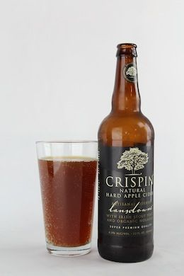 Crispin Artisinal Reserve Lansdowne:  Cider mixed with Scotch ale and molasses