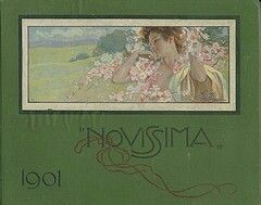 Novissima albo arti e lettere,  prima edizione 1901,  De Fonseca